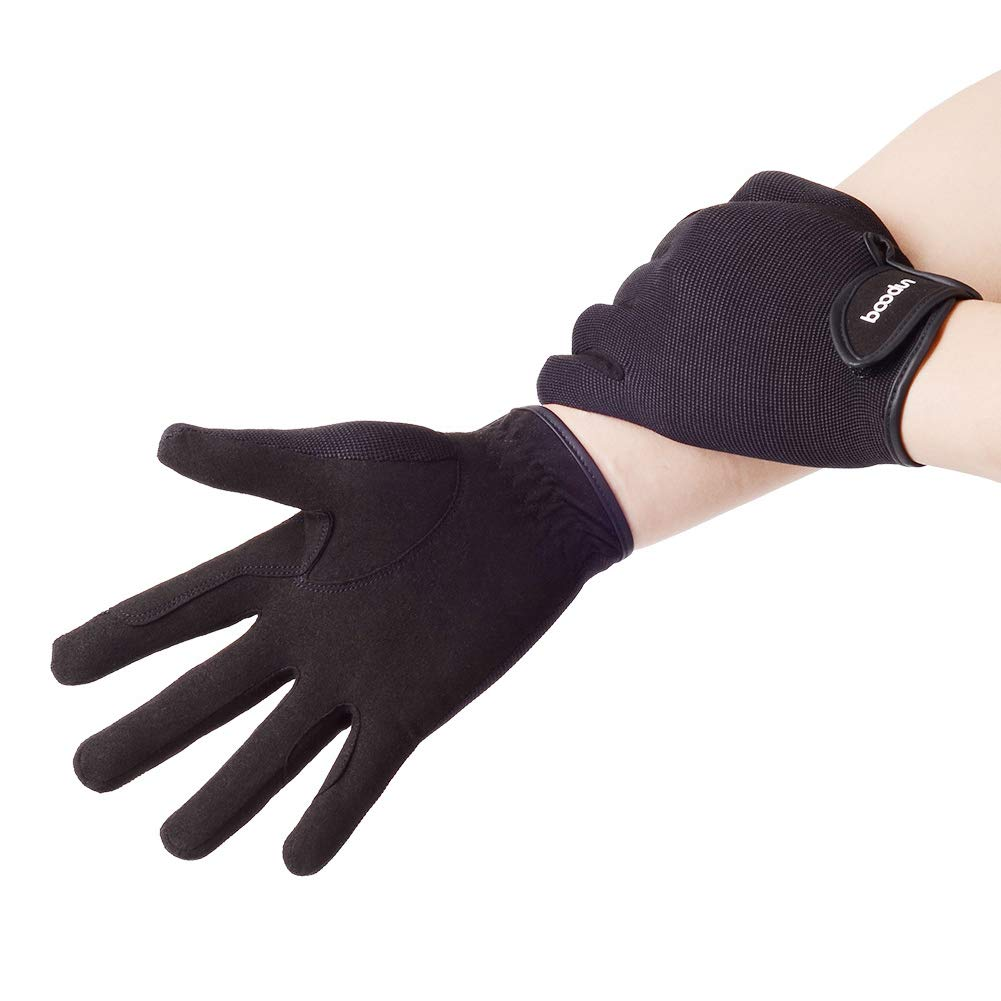 RONSHIN Outdoor Sporting Riding Gloves Non-Slip Professional Equestrian Gloves Horse Racing Accessories
