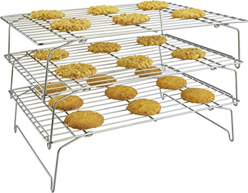 3-Tier Stackable Cooling Rack Set