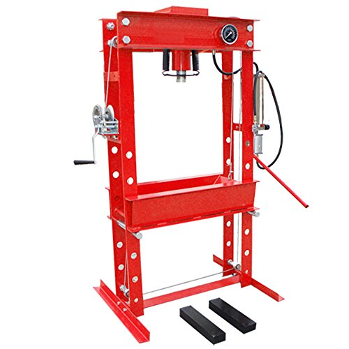 45 Ton Air Hydraulic Floor Shop Press RATE within 48 states (Press 100 Ton Shop)
