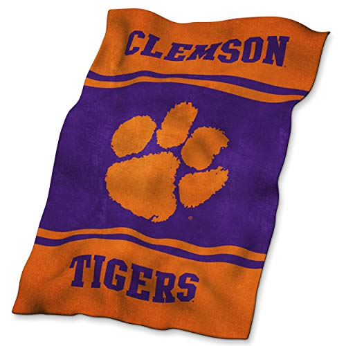 NCAA Clemson Tigers Ultrasoft Blanket Clemson Tigers Ncaa College Bedding