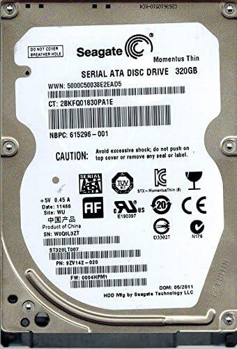 0004HPM1 320GB WU 9ZV142-020 F//W Seagate ST320LT007 P//N