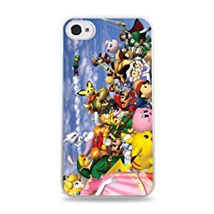 Super Smash Brothers White Silicone Case for iPhone 6 Plus (5.5 inch) i6+