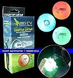 Night Eagle CV LED Golf Balls - Light Activated - No Timer - 3 Pack