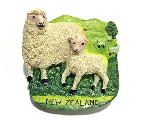 Imán para nevera con diseño de oveja 3D, recuerdos de atracción ...