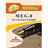 MEG8-New Literature in English (IGNOU help book for MEG-8 in English Medium)
