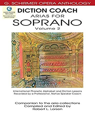 Diction Coach - G. Schirmer Opera Anthology (Arias for Soprano Volume 2) (Aria Sheet Music)