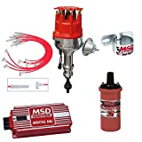 MSD Ignition Kit Ford 302 Small Cap Digital 6AL Distributor Wires Coil Bracket
