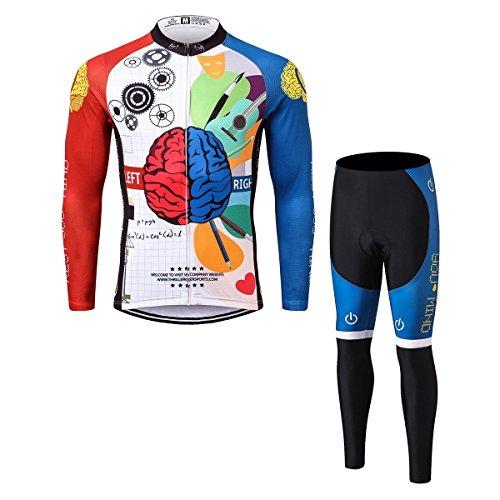 に向けて出発起きろ石Thriller Rider Sports サイクルジャージ メンズ 男性自転車運動服装半袖 Rest Your Mind