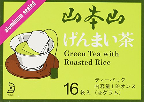 Brown Tea - Yamamotoyama - Genmai Cha (Brown Rice Tea) 16 bags