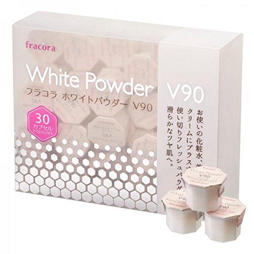 Japan Fracora White Powder V90 Capsules for Skin Whitening - Japan Imported