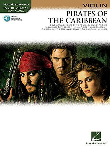 Pirates of the Caribbean: for Violin (Hal Leonard Instrumental Play-Along)]()