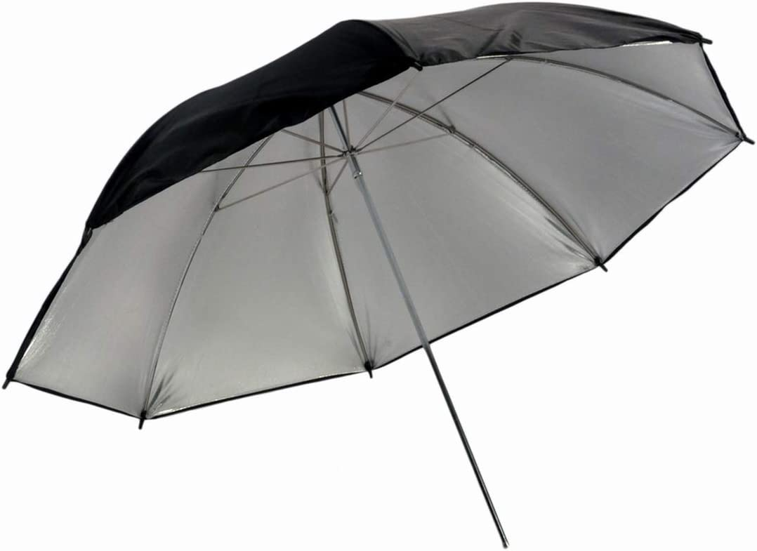 60 Promaster Professional Series Black//Gold//Silver Umbrella