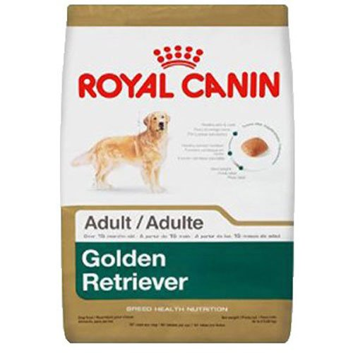 Royal Canin BREED HEALTH NUTRITION Golden Retriever Adult dry dog food, 17-Pound