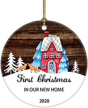 Treehouse Christmas 2020 Hours Amazon.com: JUOOE First Christmas in Our New Home 2020