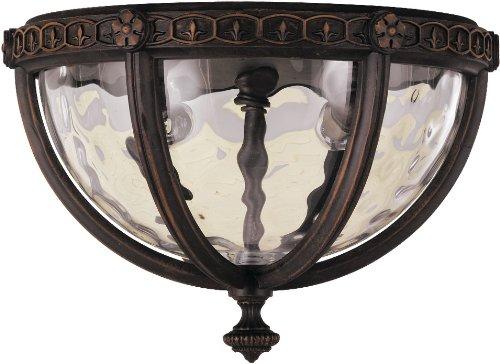 feiss-ol5613wal-regent-court-2-light-ceiling-fixture-walnut