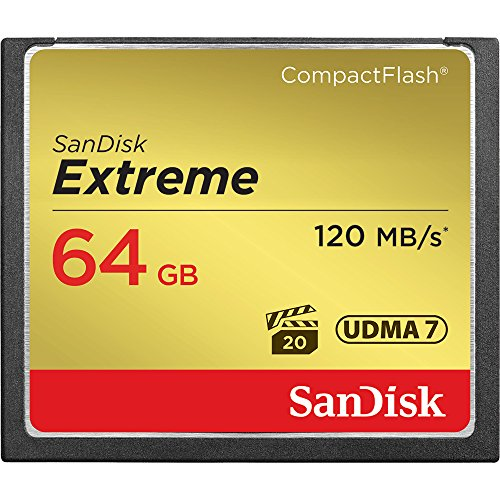 Sandisk Extreme CompactFlash Memory Card