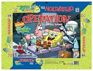 Hasbro Operación Bob Esponja - Juego de Mesa: Amazon.es: Juguetes y juegos