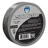 Intertape Polymer Group AC50ULS Black Premium Duct Tape, 14 mil, 1.88'' × 60 yd
