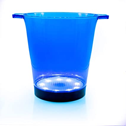 Changes 7 Colours Battery Operated Vinsani/® LED Colour Changing Party Ice Bucket Perfect for Wine and Champagne