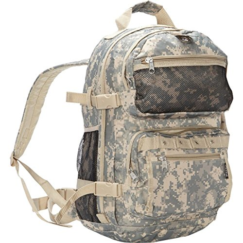Everest Oversize Digital Camo Backpack, Digital Camouflage, One Size (Camouflage Digital Backpack)