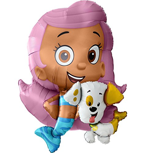 Amscan 110245-01 34 x 39-inch Bubble Guppies Air Walkers Foil (Balloon Bargain)
