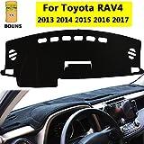 Big Ant Carpet Dashboard Cover for Toyota RAV4 2013 2014 2015 2016 2017 Carpet Dash Mat, Custom Fit Dashboard ProtectorMat sunshade Cover, Easy Installation, Reduces Glare, Eliminates Cracking