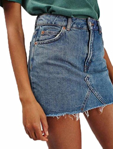 Jean Skirt - 7