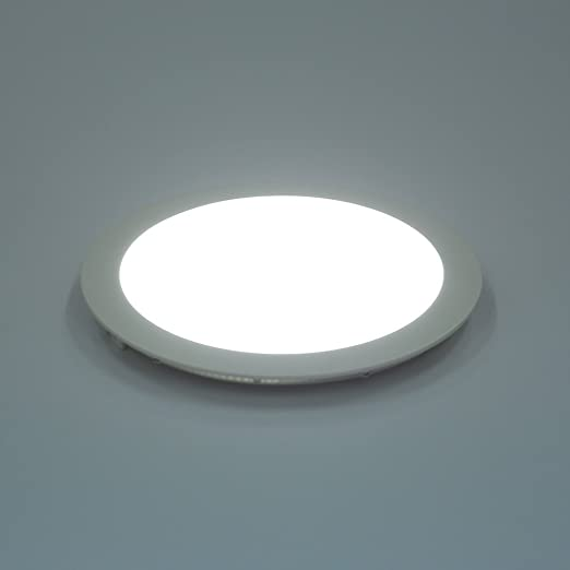 Amzdeal 18w led round recessed ceiling panel down light ultra slim amzdeal 18w led round recessed ceiling panel down light ultra slim down lamp for aloadofball Images