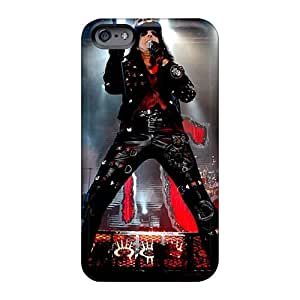 Anti-Scratch Hard Phone Cases For Iphone 6 (VAP15045wmaG) Unique Design Nice Alice Cooper Band Pattern