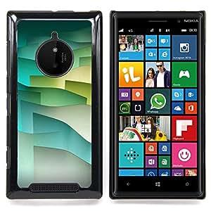 For Nokia Lumia 830 - Pastel Tone Waves Minimalist Dise???¡Ào Protecci????n Cubierta de la caja ultra delgada de Snap de pl????stico duroco duro - God Garden -