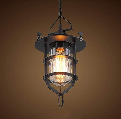 Lámpara Araña Led De Techo Vintagefarol Industrial, Luz De ...