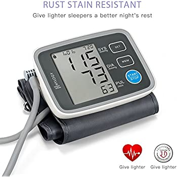 Blood Pressure Monitor, HYLOGY Digital Automatic Upper Arm BP Monitor Cuff 8.7 to 12.6 Inch