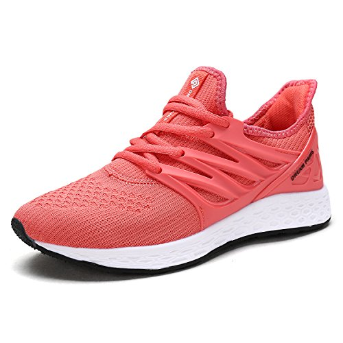 DREAM PAIRS Women's 170330-W Coral Comfortable Soft Lace-up Running Shoes Size 7 M US
