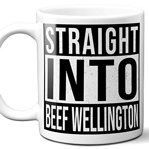 Beef Wellington Lover Gift Mug. 11 ounces.