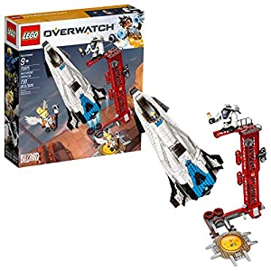LEGO unisex-child overwatch watchpoint: gibilterra 75975 costruire kit 2019 multicolore LEGO