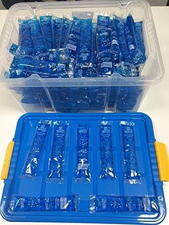 blaues wassereis