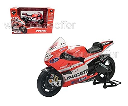 Amazon Com New 1 12 New Ray Motorcycles Collection Red 2011