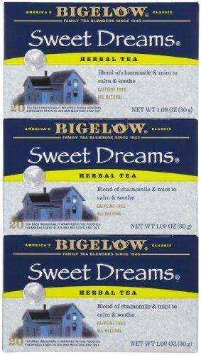 Sweet Dreams Herb Tea - 3x20 bag by Bigelow Mild Sweet Tea