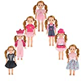 Description:  Fits on 14 inch 14.5 inch American Girl Wellie Wishers Doll or other 14 inch 14.5 inch dolls Appeared well made and quite cute,best gift for children, especially little girls.  Suitable for parents to do some parenting practice and hel...