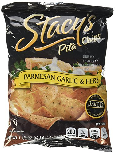 (Stacy's Parmesan Garlic & Herb Pita Chips - 1.5 oz)