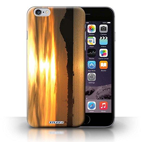 Hülle Case für iPhone 6+/Plus 5.5 / Boote Entwurf / Sonnenuntergang Collection