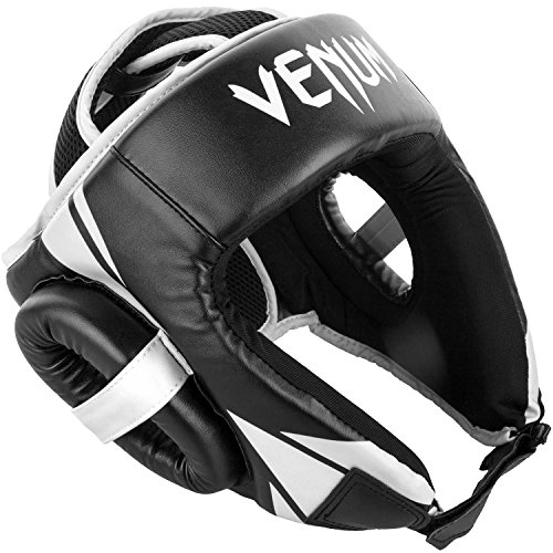 Venum Challenger Open Face Headgear - Black, One Size
