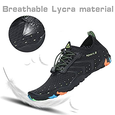 Womens Mens Water Shoes Barefoot Quick Dry Diving Swim Surf Aqua Sports Pool Beach Walking Yoga