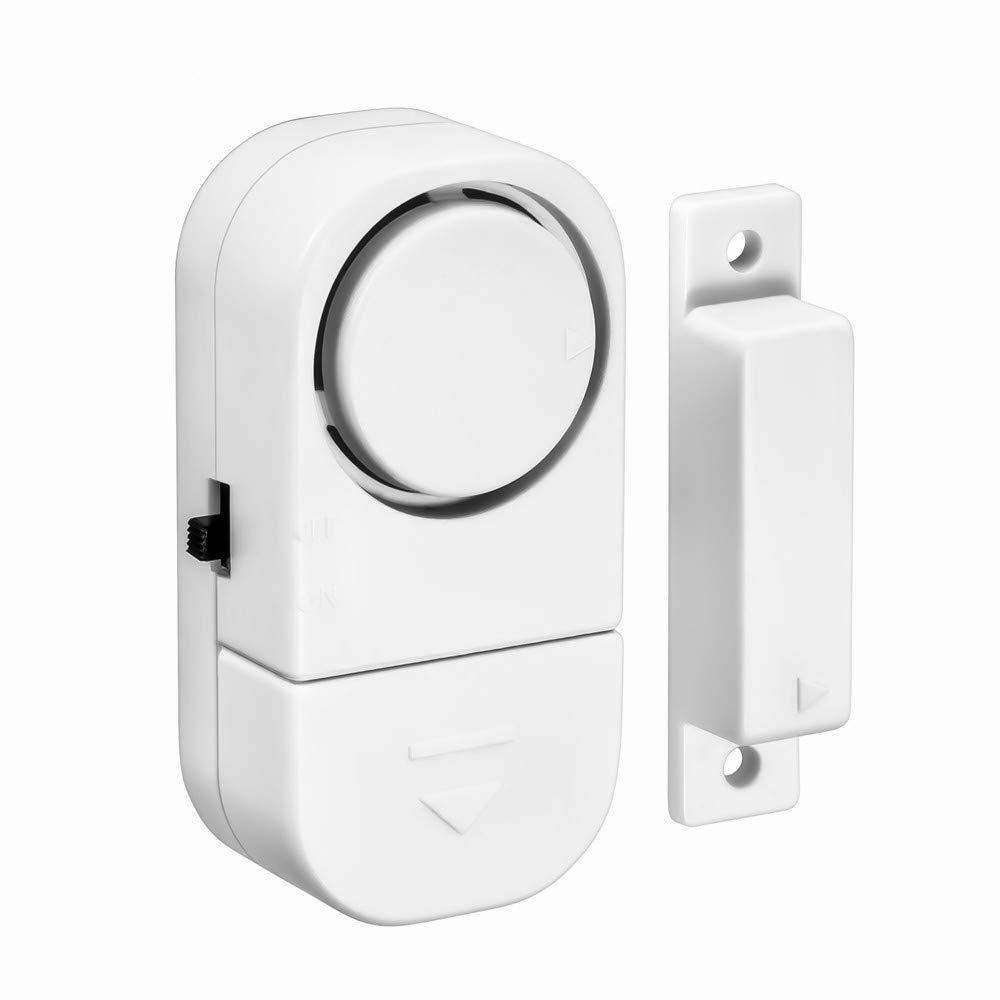 Sistema di allarme antintrusione wireless per porte e finestre e antifurto con sensore magnetico modalit/à allarme e suoneria sicurezza domestica