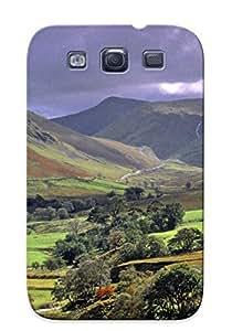 Crazylove Cute Tpu FgVNGY-694-RWnDZ Lake District Case Cover Design For Galaxy S3