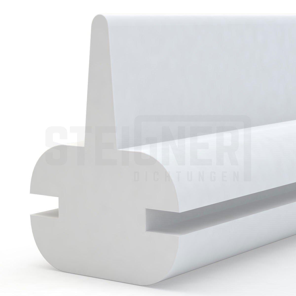 Duschdichtung Duschkabinen Dichtung 140cm SDD01 WEISS Silikon Wasserabweiser Silikondichtung Dusche Dichtprofil Duschabtrennung Schwallschutz Glast/ürdichtung Duschkabine Glasduschen
