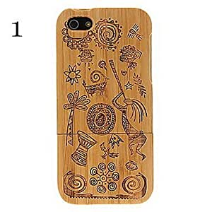 ZCL High Class Wood Case for iPhone 5/5S(Assorted Color) , 4