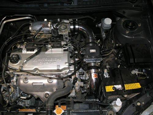 Fujita CA-2701M Polished Cold Air Intake System