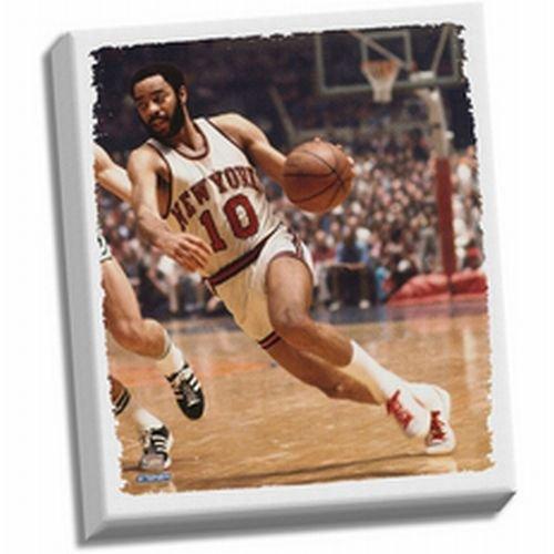 Walt Frazier Stretched Canvas by Steiner Sports