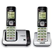 The VTech CS6719-2 Cordless Phone with Caller ID features an expandable system in which you can add up to five additional handsets (uses CS6709). This phone set includes a backlit keypad and display for easy viewing, ECO mode power-conserving technol...